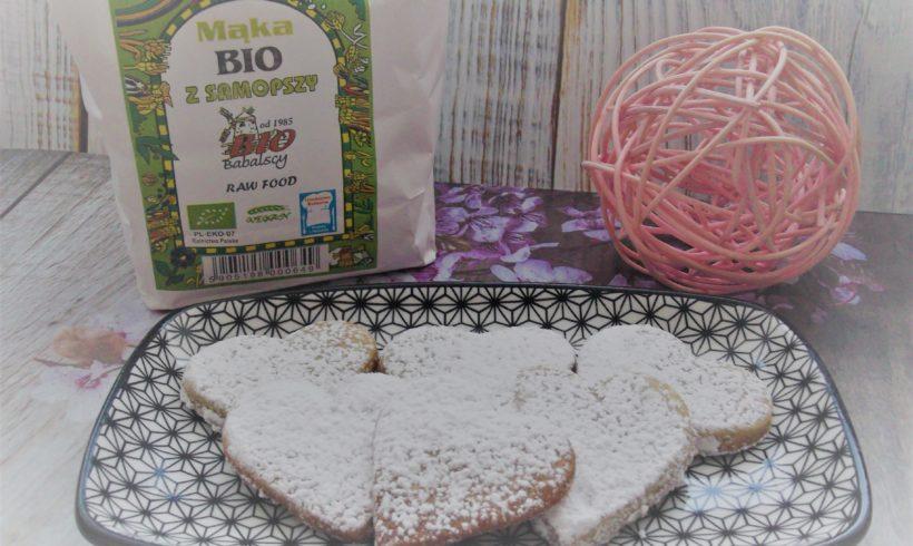 Kruche ciasteczka z samopszy