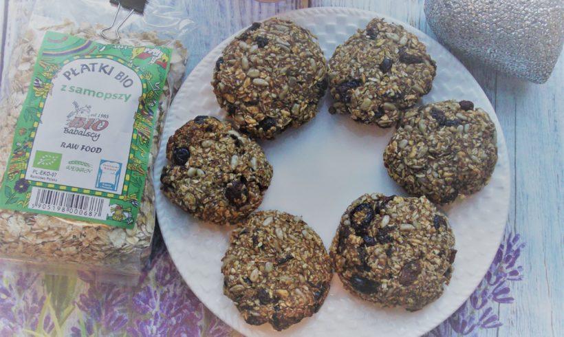 Zdrowe ciasteczka bakaliowe