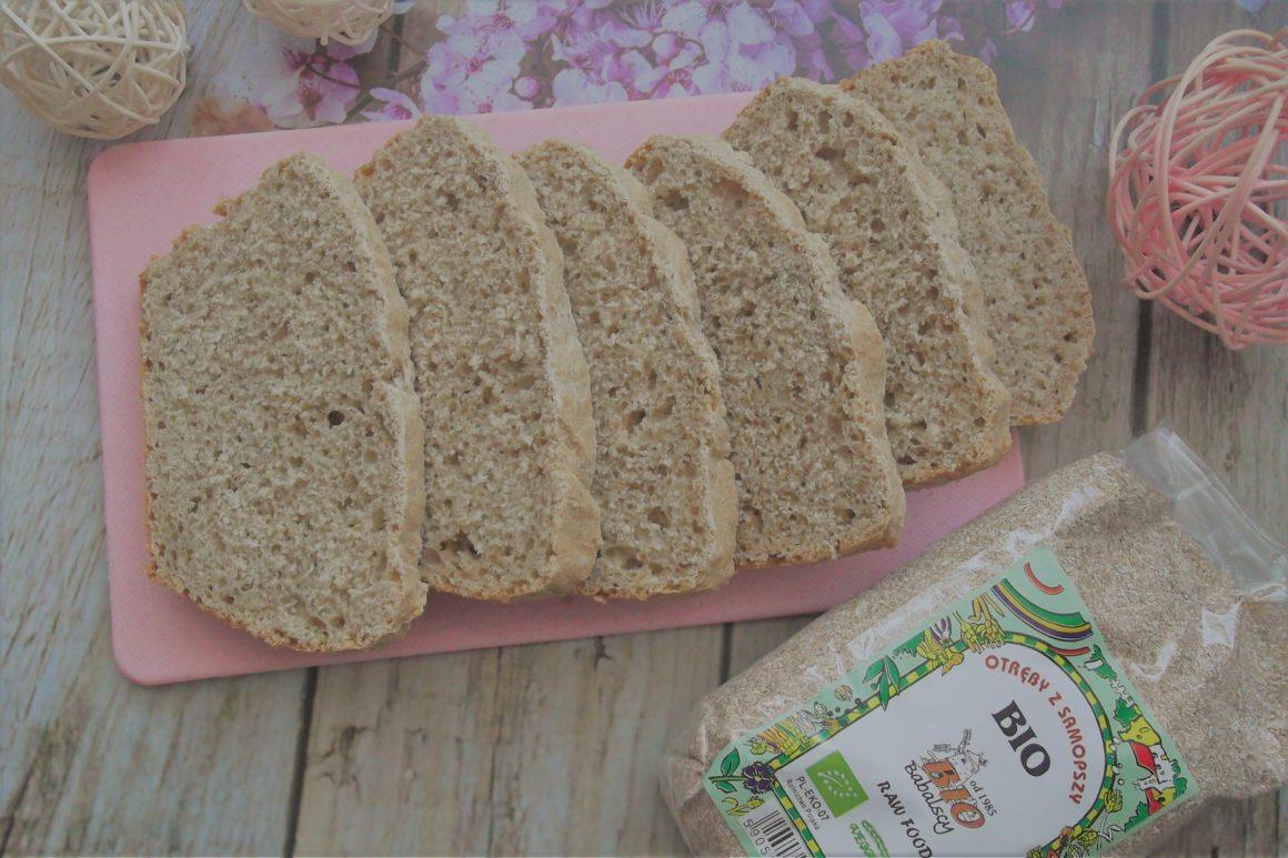 Domowy chleb z dodatkiem otrąb